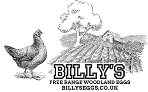 Billys Free Range and Woodland Eggs | Trade Supplier of Eggs in the Cotswolds Logo